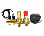 Solenoid valves with filter