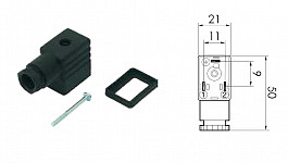 Connector for valves - small