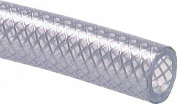 PVC hose reinforced with fabric