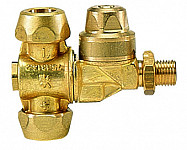 Double nozzle holder