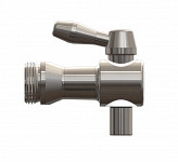 Inox Faucet with Outer Thread