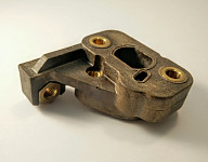Carburettor flange