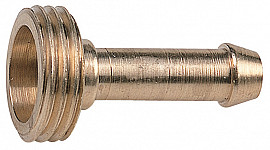 Coupler with outer thread