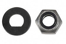 Safety nut with washer Löwe 6