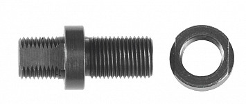 Bolt, with sleeve and nut Löwe 6