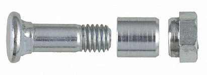 Bolt with sleeve and nut Löwe 1