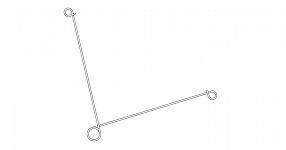 Steel tree clip