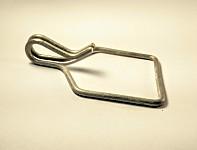 Shoulder strap spring