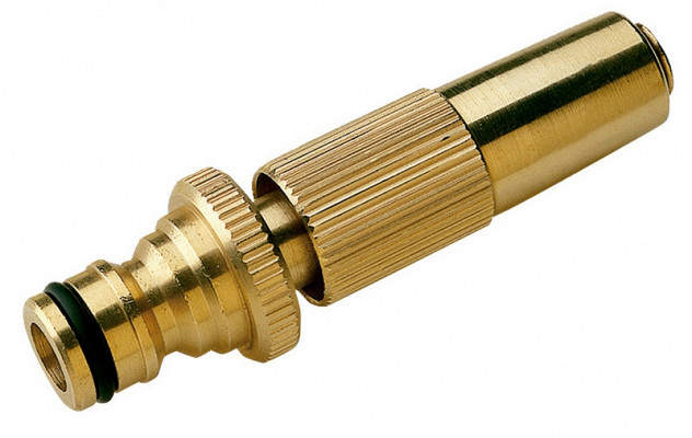 Nozzle with adjustable jet