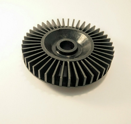 Electrical chainsaw fan
