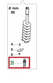 Drill tip 8 10/15/20