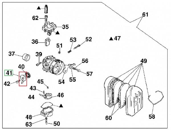 Fuel pipe attachment