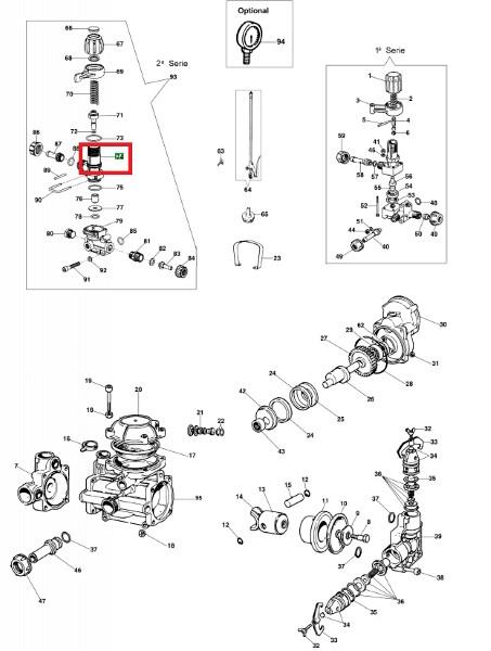 Control valve housing