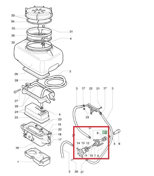 Mistblower pump AM 162