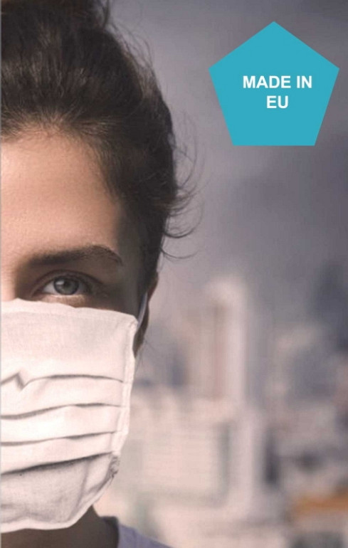 Protective mask - one layer - 4 pcs